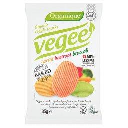 Ekologiczne pieczone chipsy warzywne