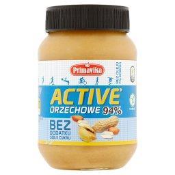 Active Pasta orzechowa bez dodatku soli i cukru