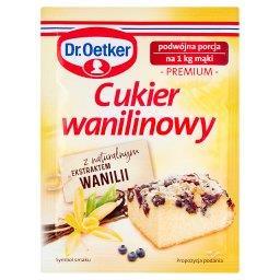 Cukier wanilinowy premium