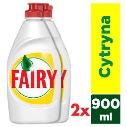 Fairy Lemon Płyn do mycia naczyń 2x900 ml
