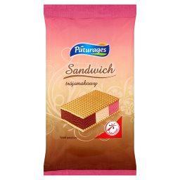 Sandwich trójsmakowy Lody