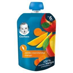 Deserek jabłko marchewka mango dla niemowląt po 6. miesiącu