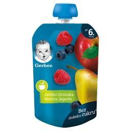 Deserek jabłko gruszka malina jagoda dla niemowląt p...