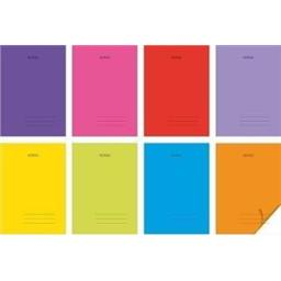 Zeszyt A4 kratka 60 k mix kolorów