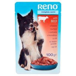 Karma dla dorosłych psów z wołowiną w sosie