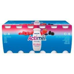 Actimel Mleko fermentowane o smaku malinowym i owoce...