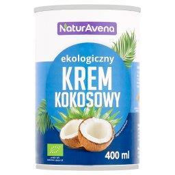 Ekologiczny krem kokosowy