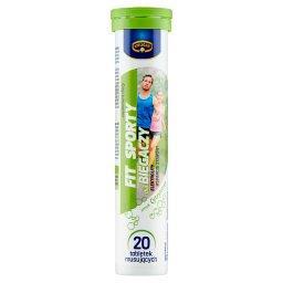 Fit&Sporty Suplement diety dla biegaczy smak cytryno...
