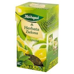 Herbata zielona z cytryną liściasta