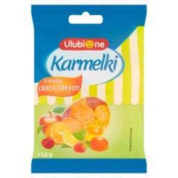 Karmelki o smaku owocowym