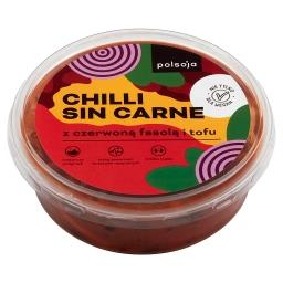 Chilli Sin Carne z czerwoną fasolą i tofu