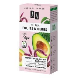 Super Fruits&Herbs krem dzienno-nocny odżywczy jędrn...