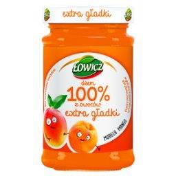 Dżem 100% z owoców extra gładki morela mango