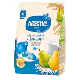 Kaszka dobranoc mleczno-ryżowa gruszka dla niemowląt...