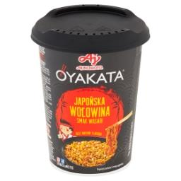 Danie instant z sosem japońska wołowina smak wasabi