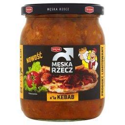 Męska Rzecz a'la Kebab Mięso wieprzowe w sosie z warzywami