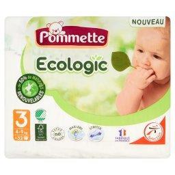 Ecologic Pieluszki dla dzieci rozmiar 3 4-9 kg
