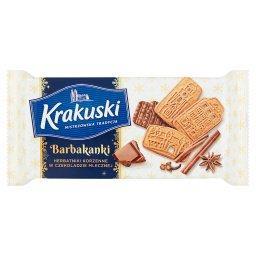 Barbakanki Herbatniki korzenne w czekoladzie mlecznej
