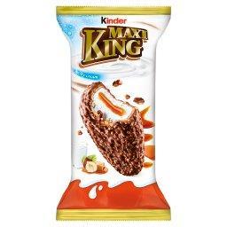 Maxi King Wafel z mlecznym i karmelowym nadzieniem p...