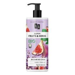 Super Fruits&Herbs balsam do ciała figa&lawenda 500 ...