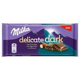 Delicate Dark Czekolada z mleka alpejskiego Almond 8...