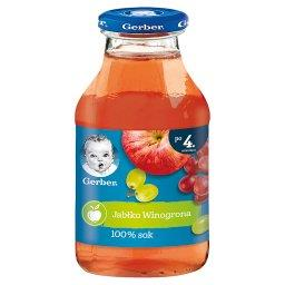 Sok 100% jabłko winogrona dla niemowląt po 4. miesią...