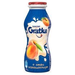 Gratka Napój mleczny o smaku brzoskwiniowym