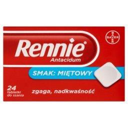 Antacidum Tabletki do ssania smak miętowy 24 tabletk...