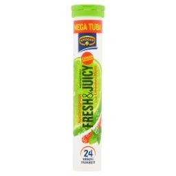 Fresh&Juicy Suplement diety multiwitamina smak limonka i mięta  (24 sztuki)