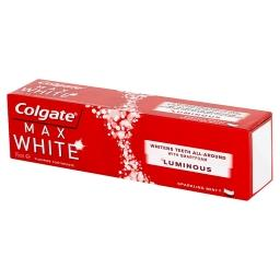 Max White Luminous Skrząca mięta Pasta z fluorem