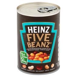 Five Beanz 5 rodzajów fasoli w sosie pomidorowym