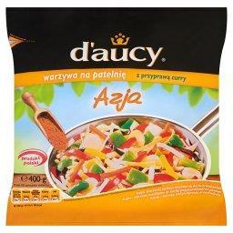 Azja Warzywa na patelnię z przyprawą curry