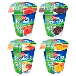 Bez dodatku cukrów Jogurt owocowy Standard
