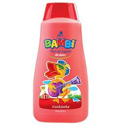 Płyn do kąpieli dla dzieci bambi truskawka 500ml