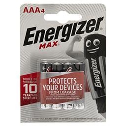 Max AAA-LR03 1,5 V Baterie alkaliczne 4 sztuki