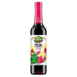 Suplement diety syrop o smaku malinowym z cytryną 40...