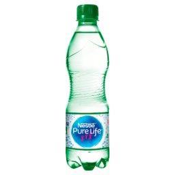 Pure Life Woda źródlana gazowana 0,5 l