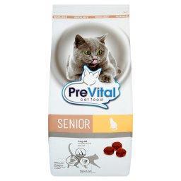 Senior Pełnoporcjowa karma dla starszych kotów bogata w drób