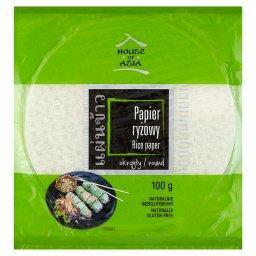 Papier ryżowy okrągły 100 g