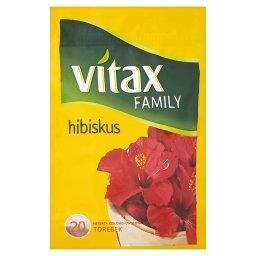 Family hibiskus Herbata ziołowo-owocowa  (20 torebek)