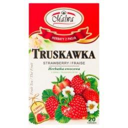 Herbatka owocowa o smaku truskawkowym  (20 x 2 g)