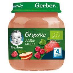 Jabłko malina dla niemowląt po 4. miesiącu