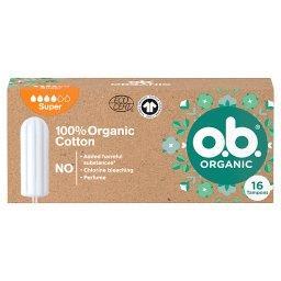 Organic Super Tampony 16 sztuki