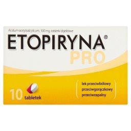 Pro Lek przeciwbólowy przeciwgorączkowy przeciwzapalny 10 sztuk