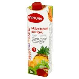 Witalność Multiwitamina Sok 100% 1 l
