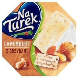 Ser pleśniowy camembert z grzybami