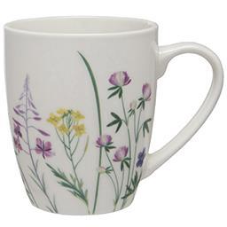 Kubek do kawy i herbaty porcelanowy Hello Spring, de...