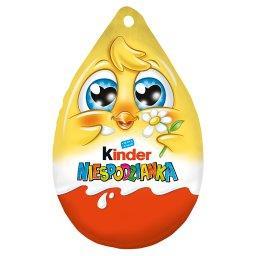 Niespodzianka Słodkie jajko z niespodzianką pokryte czekoladą mleczną