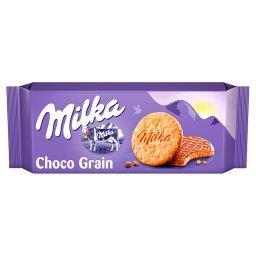 Choco Grain Ciastka z płatkami owsianymi oblane czek...