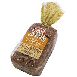 Chleb żytni 100% ze słonecznikiem 500g